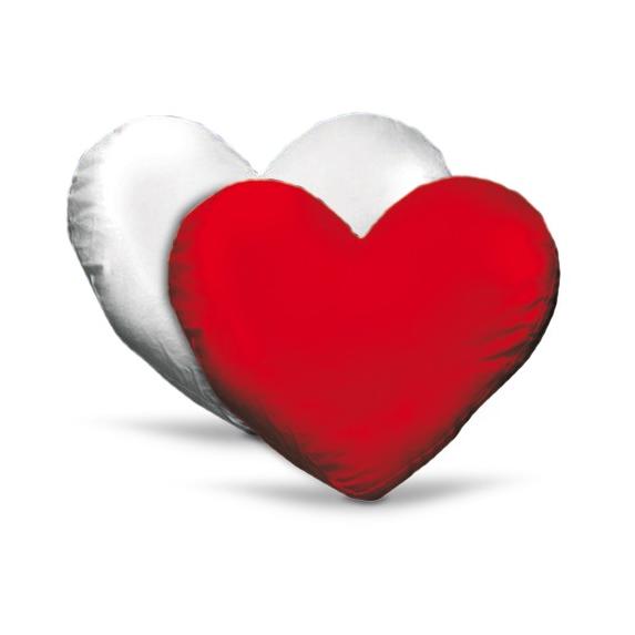 cuscino personalizzato cuore bicolore