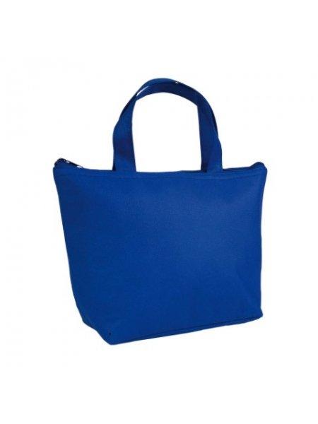 M i Mini borsa termica in TNT interno argentato cm 29x19x9 Blu royal